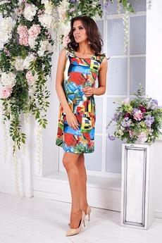 Яркое летнее платье Angela Ricci